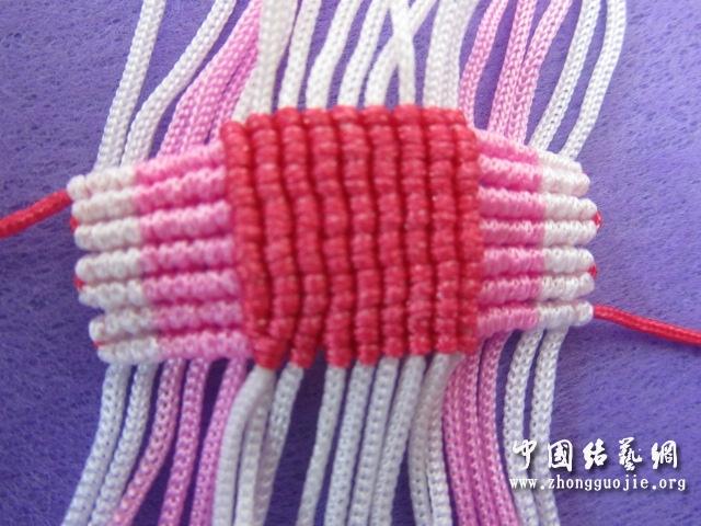 中国结论坛 原创------粉色渐变香水百合  立体绳结教程与交流区 233415sk5ucy5geeheuy5k
