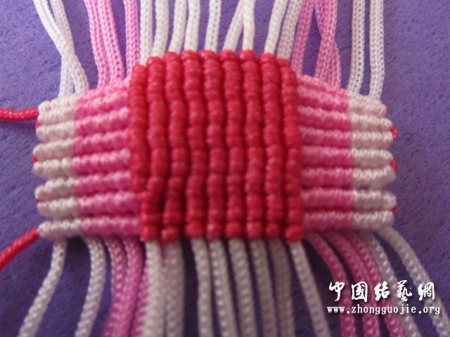 中国结论坛 原创------粉色渐变香水百合  立体绳结教程与交流区 2334194nkp55imugk50xl0