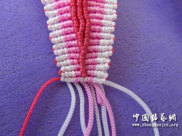 中国结论坛 原创------粉色渐变香水百合  立体绳结教程与交流区 233459wjroooyrjr7jr7rr