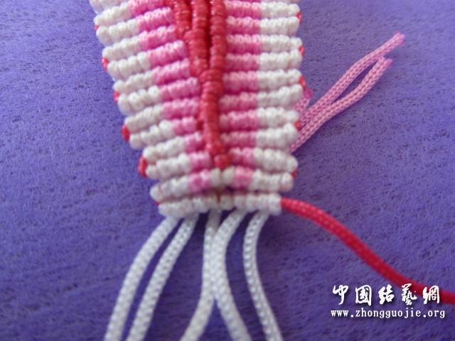 中国结论坛 原创------粉色渐变香水百合  立体绳结教程与交流区 233502jjz7t6sedbnngp68