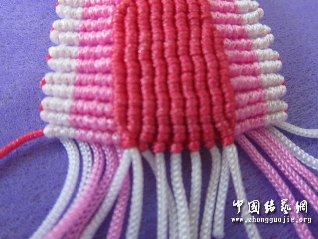 中国结论坛 原创------粉色渐变香水百合  立体绳结教程与交流区 23353162369vpbebkek6bf