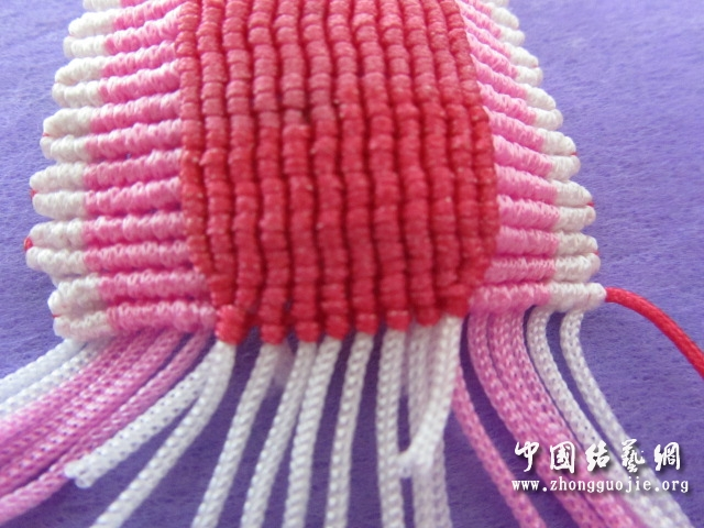 中国结论坛 原创------粉色渐变香水百合  立体绳结教程与交流区 2353049zypkpv77p7alenl