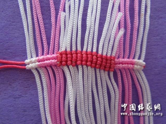 中国结论坛 原创------粉色渐变香水百合  立体绳结教程与交流区 010956g60g4qqd6s0s1p06