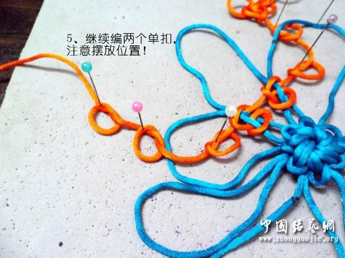 中国结论坛 富贵花开冰花板的编结过程!  冰花结(华瑶结)的教程与讨论区 223302agghddg8ihehe88c