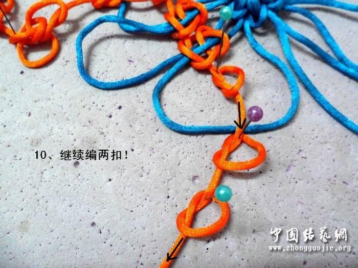 中国结论坛 富贵花开冰花板的编结过程!  冰花结(华瑶结)的教程与讨论区 223401x6n9lz9x8q6qxdv0
