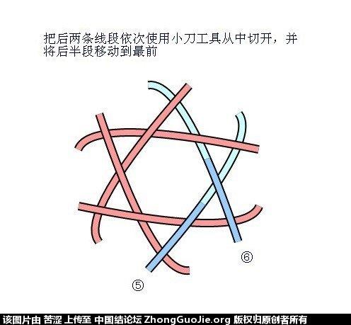 中国结论坛 六瓣八瓣锁结绘图教程  走线图教程【简图专区】 151908dpnb5n6nbl4mq8bk