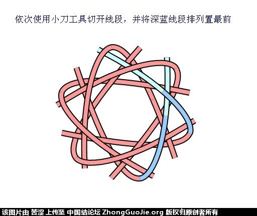 中国结论坛 六瓣八瓣锁结绘图教程  走线图教程【简图专区】 151918zlln8uuzovn8nukz