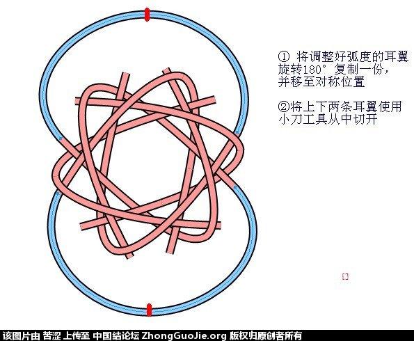 中国结论坛 六瓣八瓣锁结绘图教程  走线图教程【简图专区】 151921slqb5bh4fh0qqu4f