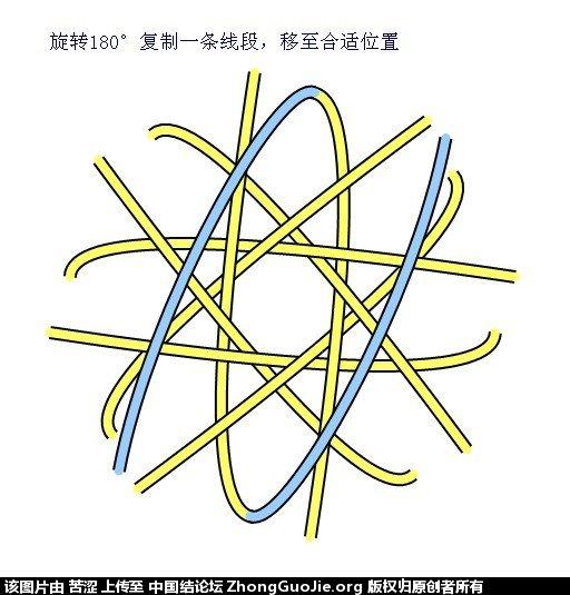 中国结论坛 六瓣八瓣锁结绘图教程  走线图教程【简图专区】 152218smsxsn0z92hsc0nc