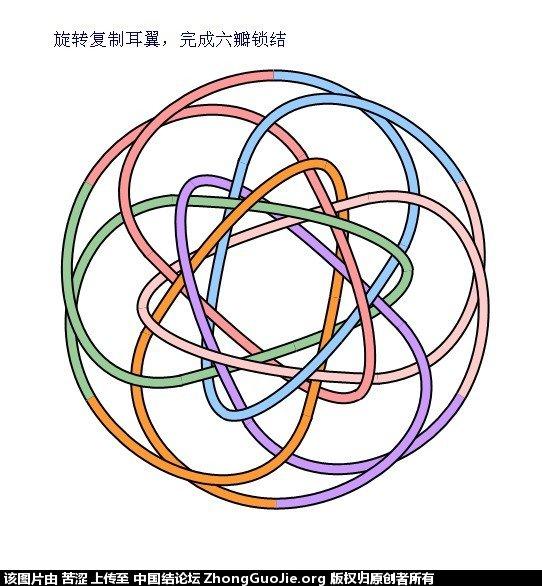 中国结论坛 六瓣八瓣锁结绘图教程  走线图教程【简图专区】 011342iggfig0zgfucg0hi