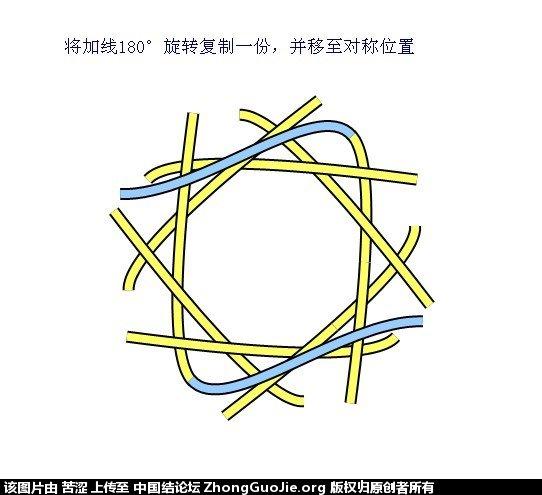 中国结论坛 六瓣八瓣锁结绘图教程  走线图教程【简图专区】 0207199vbqqxrx9jzqvoxj