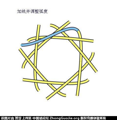 中国结论坛 六瓣八瓣锁结绘图教程  走线图教程【简图专区】 020721lz14v4klmm4q71xq