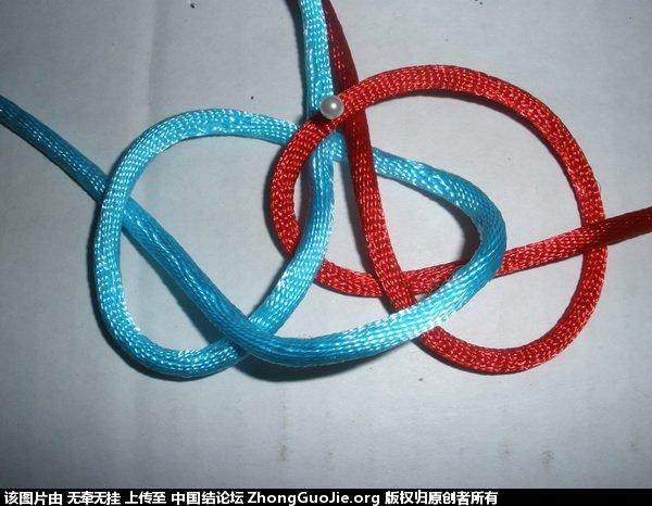 中国结论坛 双联结的两种简单编法 二根绳子各种编法图解,一根绳子编法大全简单,双线双联结编法图解,双联结最简单的打法,竖双联结编法图解视频 基本结-新手入门必看 165607hkl0f45inl33z4sh
