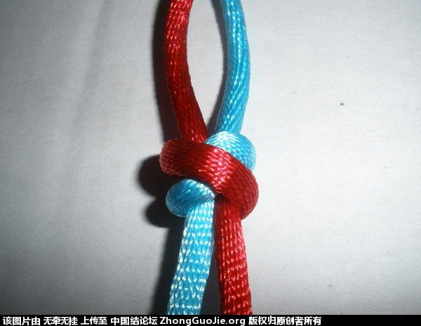 中国结论坛 双联结的两种简单编法 二根绳子各种编法图解,一根绳子编法大全简单,双线双联结编法图解,双联结最简单的打法,竖双联结编法图解视频 基本结-新手入门必看 1656122uhuus5as591t2so