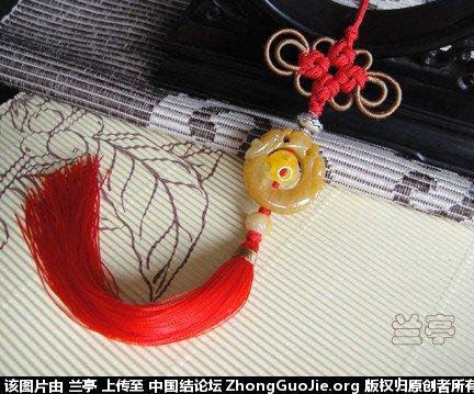 中国结论坛 盘长耳翼绕线练习 盘长,绕线,练习 兰亭结艺 07484236u72gz2ow30wc0u
