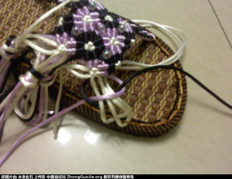 中国结论坛 我的编鞋过程(供参考)  图文教程区 2254506x0mjjjn6oqozm0m