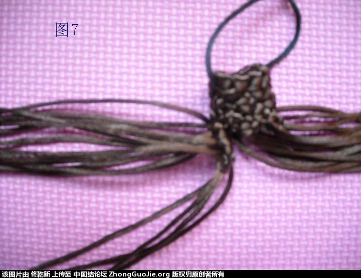 中国结论坛 梅花树干的制作过程  立体绳结教程与交流区 112449k5k8ympyp0sa0z05