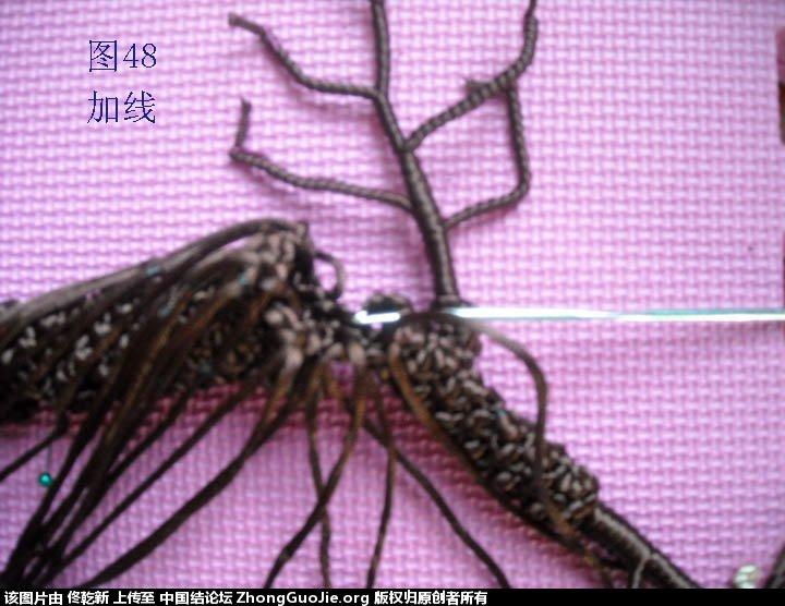 中国结论坛 梅花树干的制作过程  立体绳结教程与交流区 112738eu061vxwgvxxtiwu