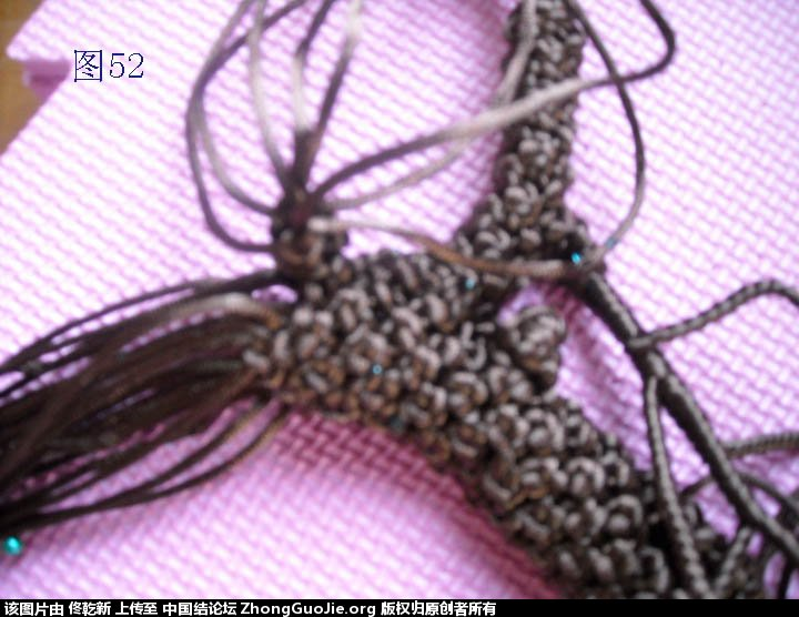 中国结论坛 梅花树干的制作过程  立体绳结教程与交流区 11275205jyiaafr60y5zzl