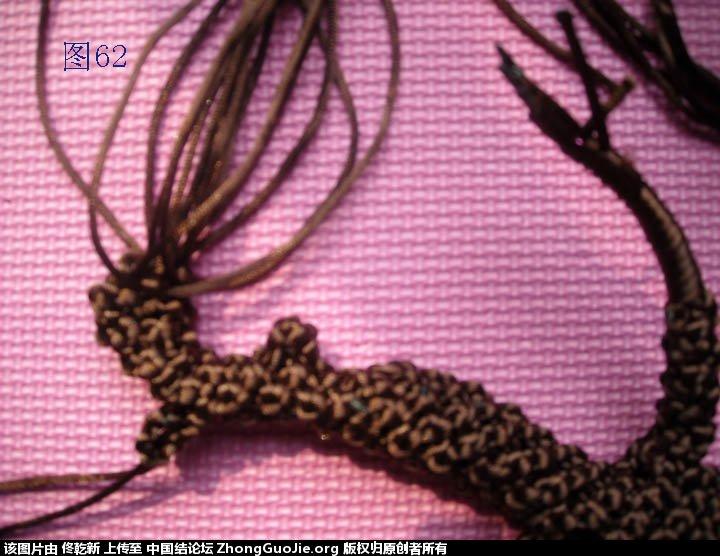 中国结论坛 梅花树干的制作过程  立体绳结教程与交流区 112840apzj6t44ijz4jawp