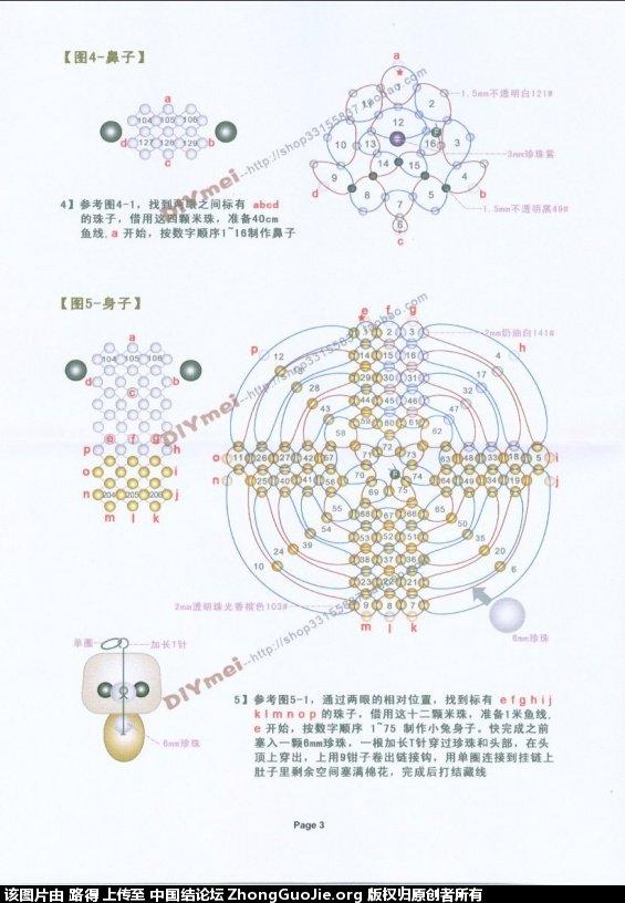 中国结论坛 带草莓的小兔子  串珠其他手工资料分享 084025ejaabbzhl0lbaw2b