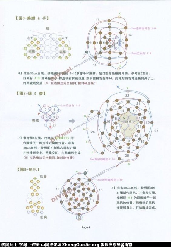 中国结论坛 带草莓的小兔子  串珠其他手工资料分享 084029j0ht37g7g6xv7jmn