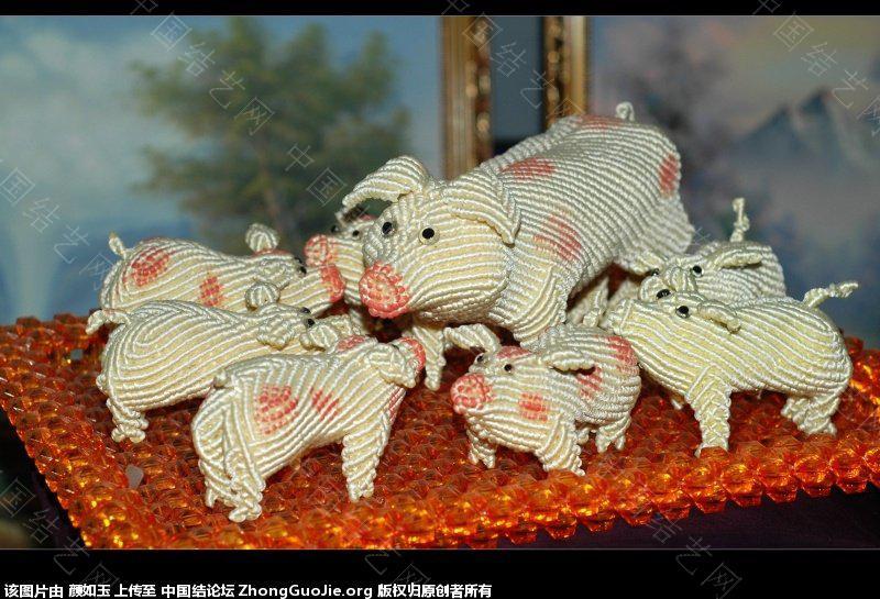 中国结论坛 新作分享--预祝大家龙年快乐  立体绳结教程与交流区 224534bz1naunthwfh9htn