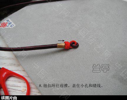 中国结论坛 绕线项圈的做法 项圈 兰亭结艺 1537347g0px7xgqb17y74z