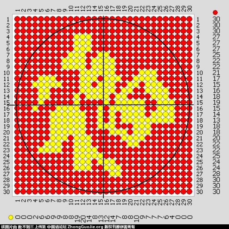 中国结论坛 华瑶福字字版  冰花结(华瑶结)的教程与讨论区 0033015rqmcahc0861ub5b