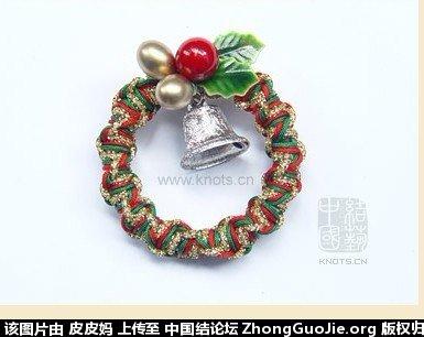 中国结论坛 没完工的圣诞花环  作品展示 1159411g79l2787qasz775