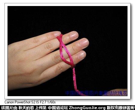 中国结论坛 套箍结玫瑰花编法  立体绳结教程与交流区 195141yyi999mzp97d08p5