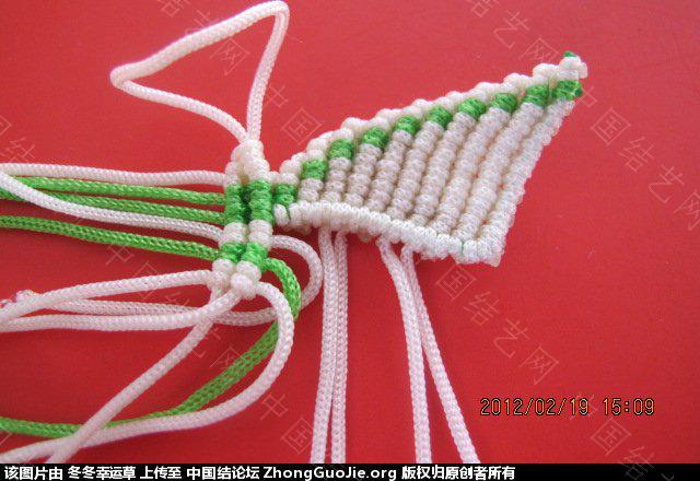 中国结论坛 珍珠蝴蝶的编法  立体绳结教程与交流区 225850flqbj0fefbtfqeje