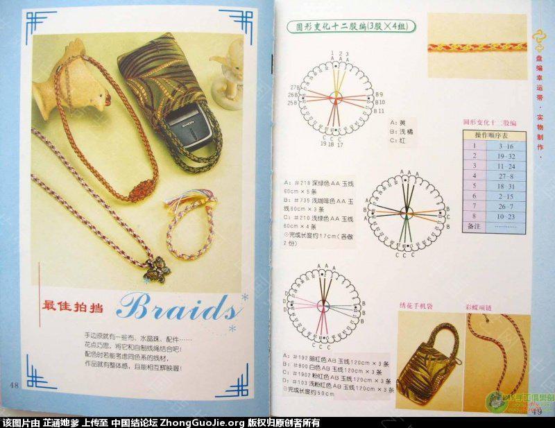 中国结论坛 与大家分享手链(4,8,16,10)股辫编发 手链,大家,分享,手链多少颗珠子最好,和大家一起分享 图文教程区 143039i0dom026880zi2pd