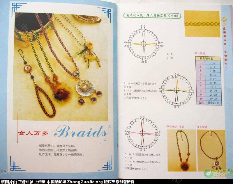 中国结论坛 与大家分享手链(4,8,16,10)股辫编发 手链,大家,分享,手链多少颗珠子最好,和大家一起分享 图文教程区 14311121dc2d2bkgbw12c2