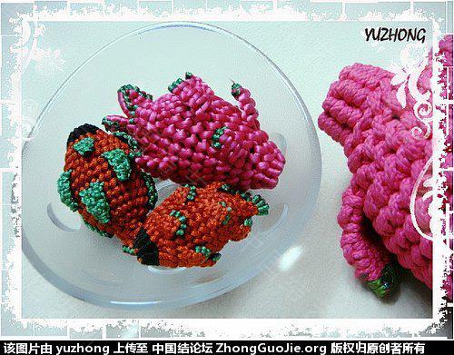 中国结论坛 蔬果集 (2012-02-28更新)  立体绳结教程与交流区 095354txxjre4rzkp7xozx