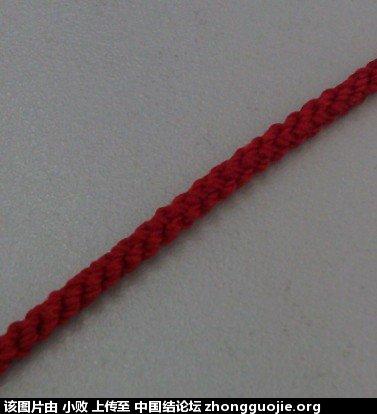 中国结论坛 市面上常见的红绳项链编法 小金珠子编手链款式,翡翠吊坠扣头编绳方法,项链绳子伸缩打结方法 图文教程区 180314whdxm6x14c70ox55