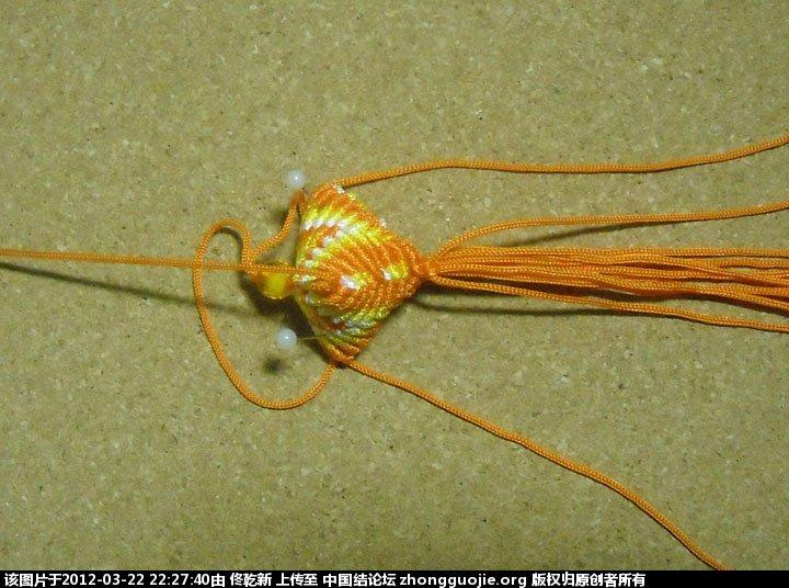 中国结论坛 粽子的制作过程  立体绳结教程与交流区 222706seoiq1cbi5b5xnqf