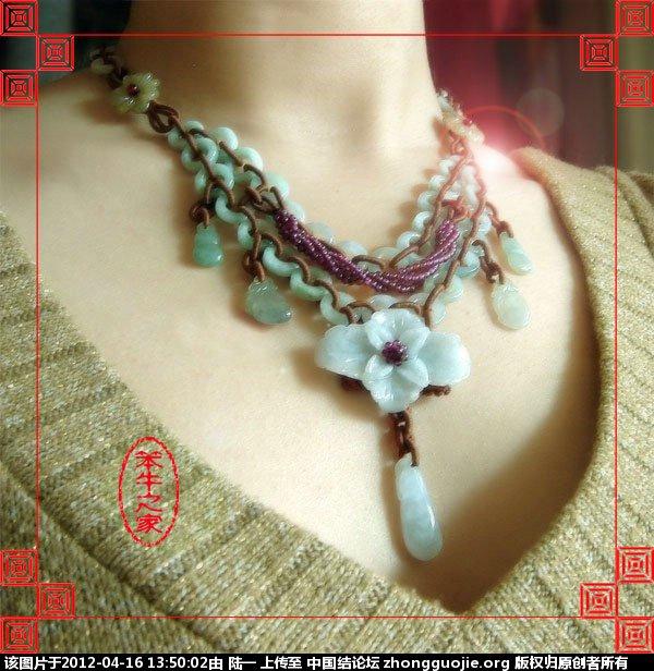 中国结论坛 双层翡翠环绕线富贵花项链 双层,翡翠,环绕,富贵,富贵花 作品展示 134124t0vf1avt1nfz70tv