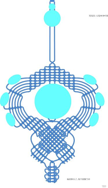 中国结论坛 根据论坛里的走线图,编的一款手机链 手机链,论坛 作品展示 160105ltuojj0atjaoau7s