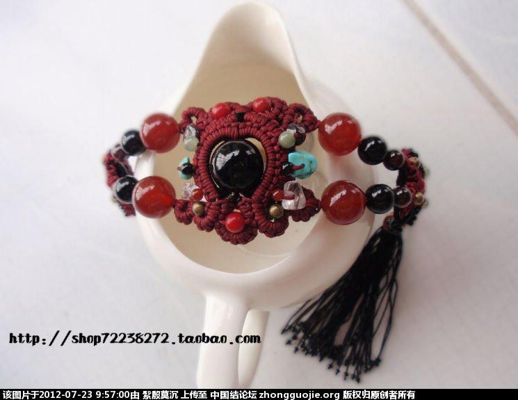 中国结论坛 你是我的眼------手链 手链 作品展示 09555900z2ouk06lc4od23