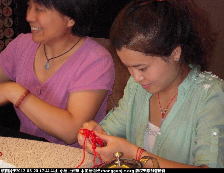 中国结论坛 石家庄地区结友第一次聚会花絮照片 石家庄,聚会 结艺网各地联谊会 162455uuj26o0j2ddgege2