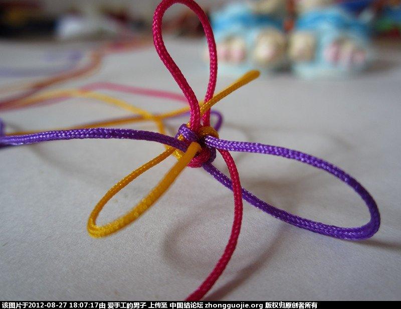 中国结论坛 三根线打圆形金刚结-做手链效果不错。 金刚,我不知道,朋友,而且 作品展示 174929kepwpdd929kzopwt
