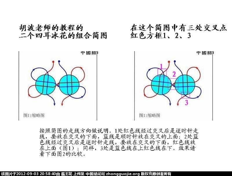 中国结论坛 如何处理好冰花结系列结中的交叉走线  冰花结(华瑶结)的教程与讨论区 2057405v95vad9v5vm7a44