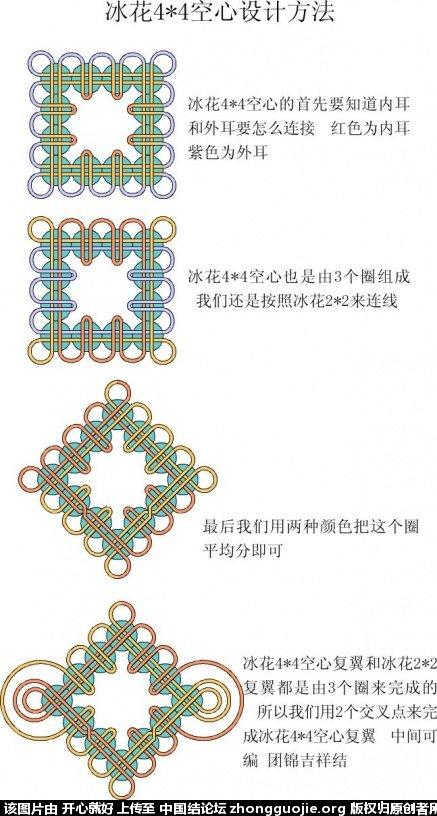 中国结论坛 冰花结设计方法 设计 冰花结(华瑶结)的教程与讨论区 1722241k9f0kx9pyjopv7g