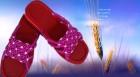中国结论坛 各种手编拖鞋【蝴蝶王拖鞋的编法与图解】 蝴蝶王拖鞋编织方法,绳编拖鞋花样图片大全,雪儿手工编织凉鞋教程 作品展示 18535177k7e75ne91efj1z