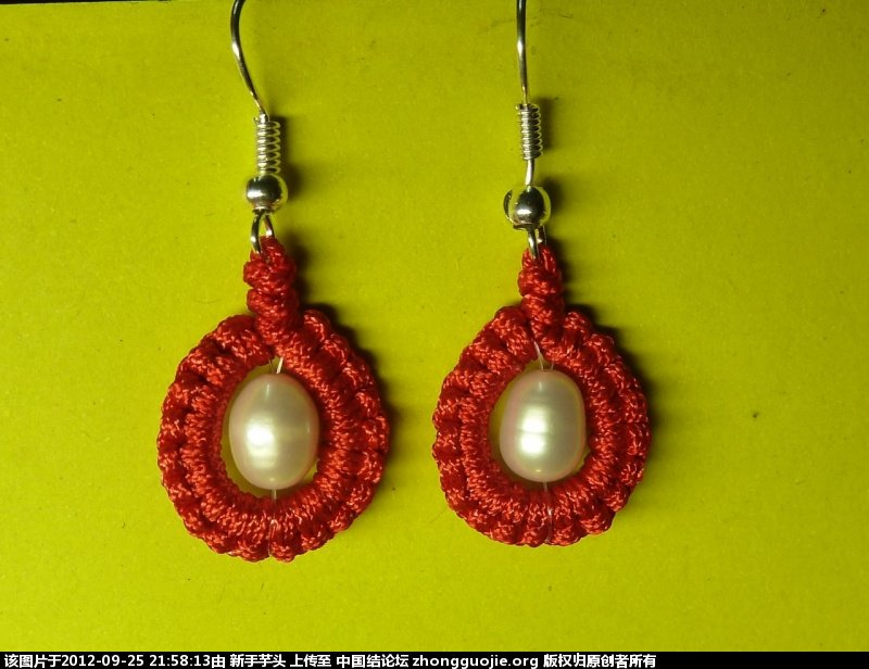 中国结论坛 三款小耳环,顺便捎上串珠耳环 耳环,串珠 作品展示 21500201xccog0x9avg550