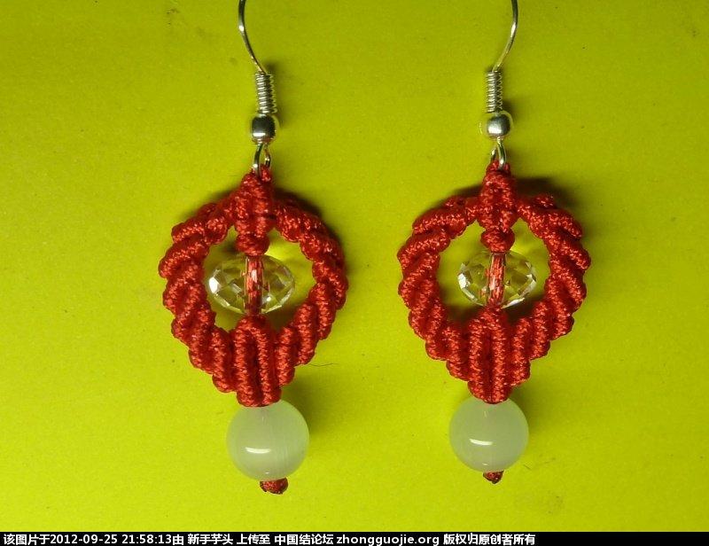 中国结论坛 三款小耳环,顺便捎上串珠耳环 耳环,串珠 作品展示 2150125kkuy5wj3gcyg33d