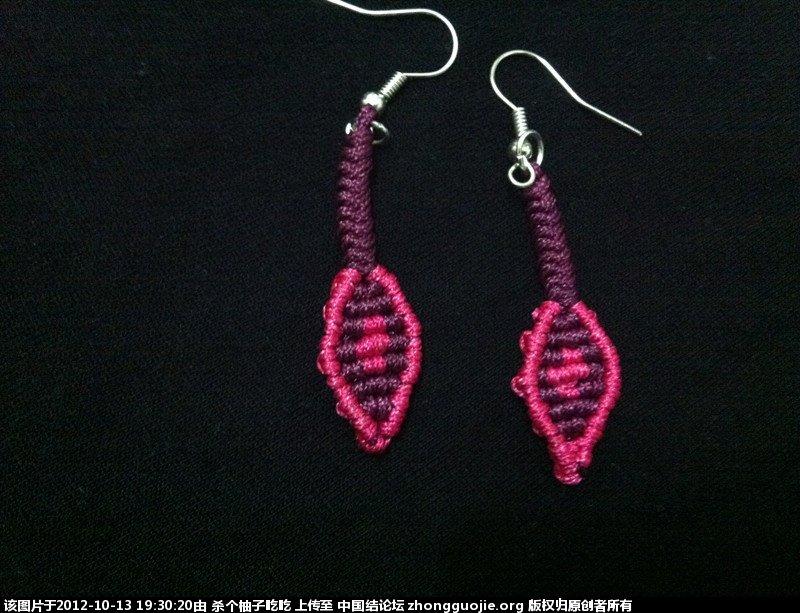 中国结论坛 这两天做的项链和简单耳环 耳环,项链 作品展示 1928400drhhik0i3gyi3eg