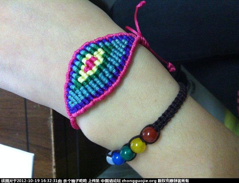 中国结论坛 刚做了款手链,狠漂亮,不知道大家喜欢不 漂亮,手链 作品展示 163206ppg5w53qzb801kh2