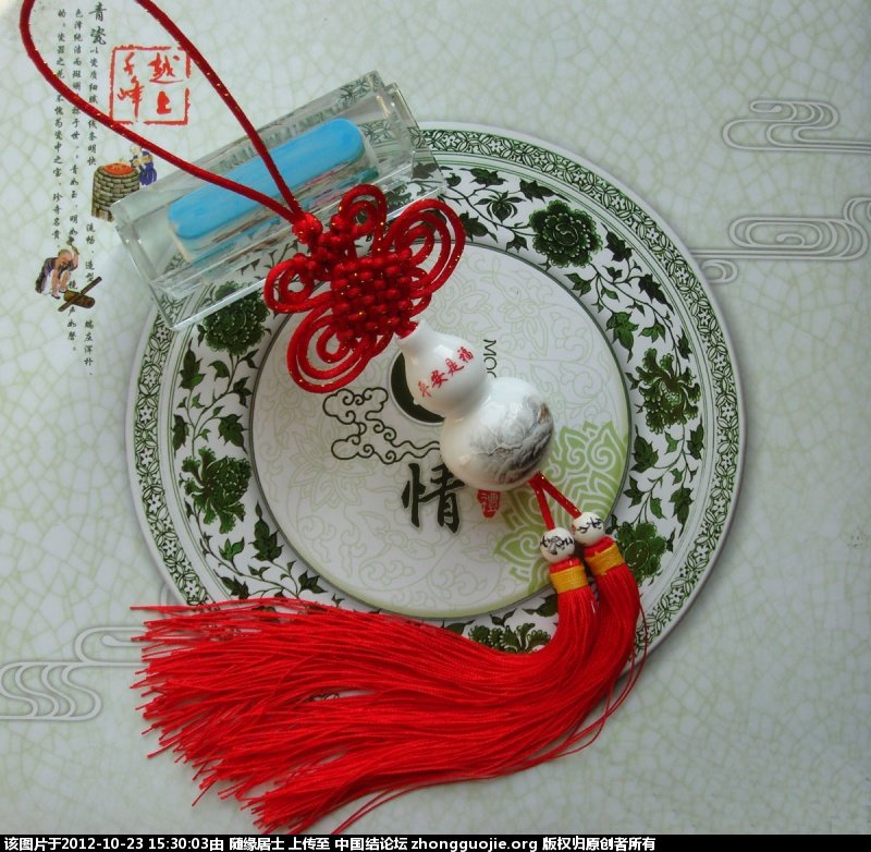中国结论坛 你的葫芦我的结 葫芦 作品展示 152917it4xk0qeaqnwkiai